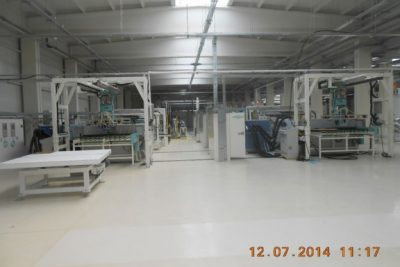 Automotive Windshield Factory – GLASS CORP SA – Buzau, Romania